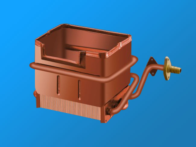 W5L anaerobic copper heat exchanger